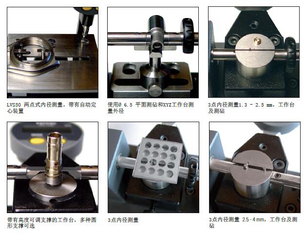 DANTSIN-SYLVAC 测量台 PS16