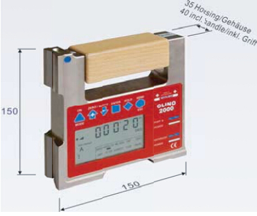 Dantsin-Wyler CLINO 2000 高精度电子角度仪